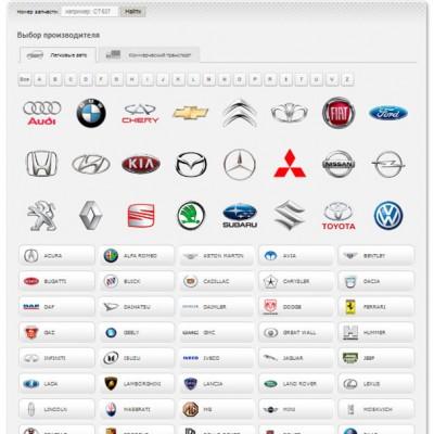 Модуль продажи автозапчастей
